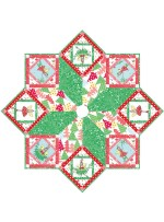 "Hollywood Pixie Tree Skirt by Marsha Moore / 50"" diameter - Instructions Coming Soon"