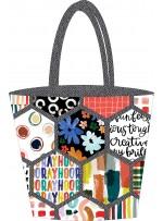 Honeycomb Handbag by Poorhouse Quilt Designs
