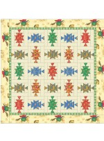 """Horse and Rider Quilt by Debby Kratovil /66""""x66"""" - Instructions Coming Soon"""