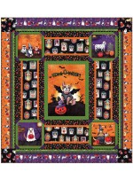 "Howl-O-Ween Quilt by Heidi Pridemore /54""x60"""