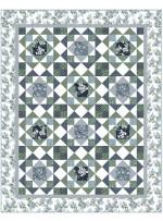 """Jolene Blue Quilt by Heidi Pridemore /69""""x87"""""""