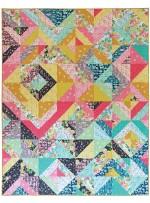 "Joyful Quilt by Tamara Kate /80x100"""