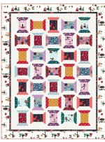 "Just Spoolin' Quilt by Wendy Sheppard /53.5""x59.5"" - Instructions Coming Soon"