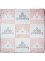 "Katherine Quilt by It's Sew Emma 42.5""x42.5"" - Fat quarter Baby Book"