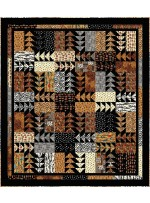 """Rush Hour Quilt by the fabric addict 88""""x100"""""""