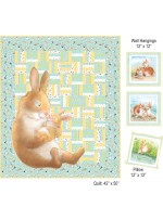 HONEY BUNNY AQUA QUILT KIT