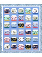 """Life in a Fishbown Quilt by Cluck Cluck Sew /81""""x95"""""""