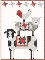 "Barn Yoga Quilt by Coach House Designs 48""x57"""
