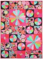 """Little Aurora Borealis Quilt by Marinda Stewart /40""""x56"""""""