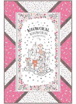"Panel Pop Quilt by Swirly Girls Design /36""x54"""