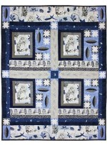 Midnight at the Owl-Asis Quilt by Marinda Stewart