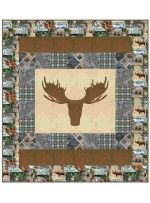 "MINKY - Wild Thing Quilt /54""x60"" - pattern available in October"