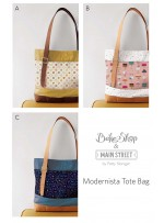 Modernista Tote Bag by Patty Sloniger
