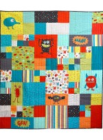 "Monster Mash Quilt by Susan Emory /54""x60"""