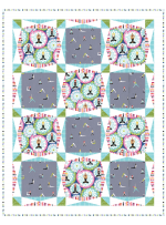 "Namaste Quilt by Heidi Pridemore /36""x46"""