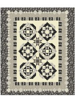 "New Beginnings- Cream  Quilt by Susan Emory /92""x102"""