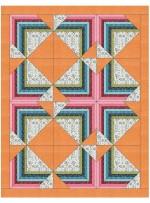 """Optimistic Quilt by Sandra Clemons /62""""x80"""""""