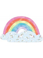 "Over the Rainbow Pillow by Heidi Pridemore /32""x20"