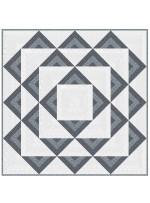 "Paint Box -White Hot Quilt by Colourwerx 48""x48"