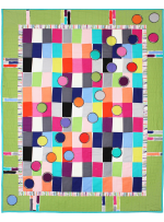 Paint Chips Quilt by Marinda Stewart