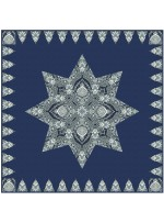 "Paisley Star Quilt by Heidi Pridemore /36""x36"" - Instructions Coming Soon"