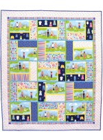 "Paper Doll Park Quilt by Marsha Moore /51.5""x60"""