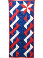 "Patriotic Table Runner by Rob Appell /43.5""x18.5"""
