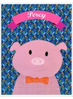 "Percy Quilt  by Shiny Happy World /42""x42"""