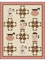 """Perk Me Up Quilt by Coach House Designs 64""""x82"""""""