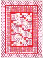 "Pineapple Express Quilt by Marinda Stewart /40""x56"""