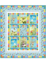 """Pixies Please Quilt by Mrasha Moore /47-1/2""""x54-1/4""""  - Instructions coming soon"""