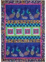 """Plume Quilt by Marinda Stewart /41""""x59"""""""