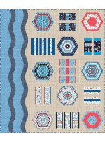 """A Day at the Beach Quilt by Everyday Stitches 76""""x90"""""""