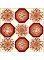 """Pots of Posies Quilt by Christine Stainbrook /90""""x90"""" - Instructions Coming Soon"""