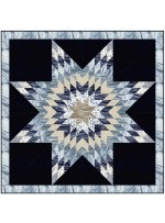 "Celestial Star Quilt by Wendy Sheppard /53""x53"" - Instructions Coming Soon"