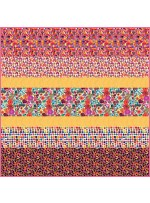 Rainbows and Sunshine MINKY Strip Quilt  - Free Pattern available in October