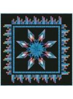 "Razzle Dazzle Quilt by Christine Stainbrook /45""x63"""
