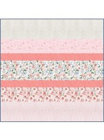 Rosy MINKY Strip Quilt -free pattern available in November