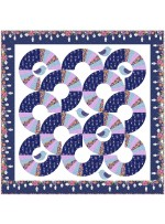 "round Robin Quilt by Natalie Crabtree /76""x76"" - Instructions Coming Soon"