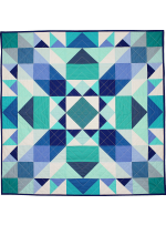 Sea Glass Medallion QUILT by Nighting Gale Quilts