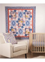 "Seedling Safari Quilt by Heidi Pridemore  / 50""x59"""