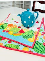 Sew Fruity Border print Runner by Susan Emory - Instructions Coming Soon