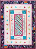 "Sewing Circle Quilt by Marinda Stewart /40""x55"""