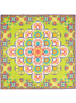 Sewn Seed QUILT by HoopSisters - 2015 EmbroidaBlock of the Month