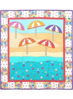 "Sheep to Shore Quilt by Heidi Pridemore /40""x44"" - Instructions Coming Soon"