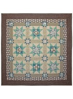 "Stars Galore Quilt by Marinda Stewart /42""x42"" - Instructions Coming Soon"
