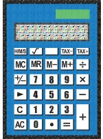 """Calculate This Quilt by Lisa Swenson Ruble 52.5""""x74.5"""""""