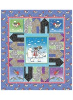"""Climate Hero - Stop Climate Change Quilt by Cabin Quilts  52""""x58"""""""