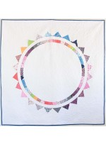 Sun Halo Quilt by Sandra Clemons / 68x68""