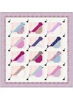 """Sweet Song QUilt by Wendy Sheppard /74.5""""77.5"""""""